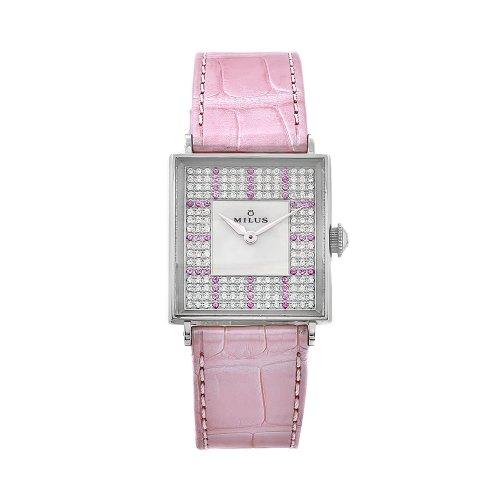 Milus Women's AURQ005 Aurigios Diamond-Accented Dial Watch