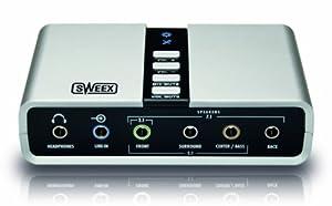 Sweex SC016 7.1 externe USB-Soundkarte