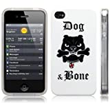 iPhone 4S / iPhone 4 Image TPU Gel Skin / Case / Cover - Dog & Boneby CallCandy