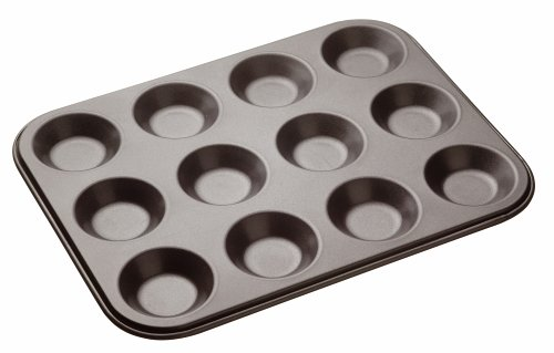 Master Class Non-Stick Twelve Hole Shallow BunT in 32 cm x 24 cm (Mince Pie Pan compare prices)
