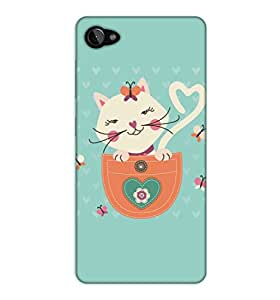 Happoz Lenovo Z2 Plus Cases Back Cover Mobile Pouches Shell Hard Plastic Graphic Armour Premium Printed Designer Cartoon Girl 3D Funky Fancy Slim Graffiti Imported Cute Colurful Stylish Boys D045