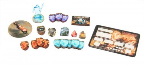 Shaman Token Set Dungeons & Dragons 4th Edition Accessories - 1