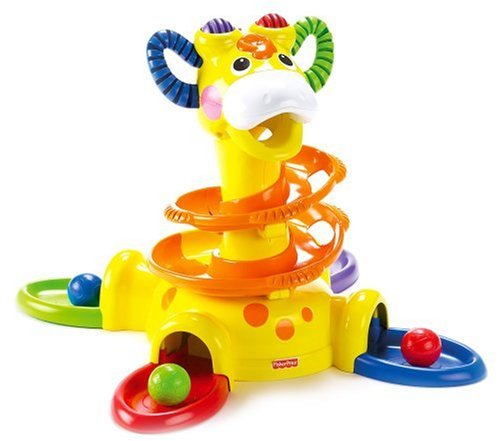 Fisher-Price Go Baby Go Sit-To-Stand Giraffe front-10290