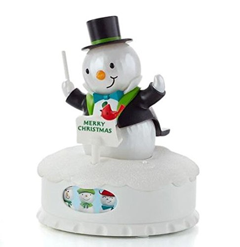 Hallmark XKT2405 Christmas Concert Snowmen – The Conductor