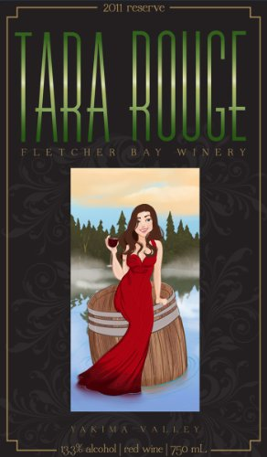 "2011 Fletcher Bay Winery ""Tara Rouge"" Bordeaux-Style Red Blend 750 Ml"