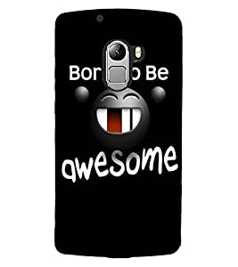 ColourCraft Funny Image with Quote Design Back Case Cover for LENOVO VIBE X3 LITE