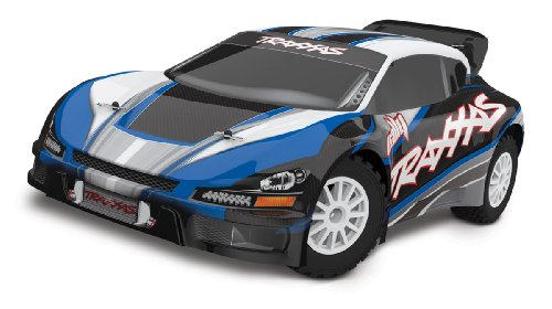 Traxxas 7407 1/10 Rally Car Brushless Ready to Run with TQi 2.4 GHz Radio, Colors May Vary