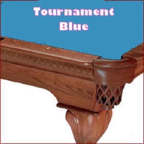foto de 8 Oversized Simonis 760 Tournament Blue Billiard Pool Table Cloth ...