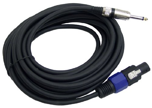 Purchase PYLE-PRO PPSJ30 - 30ft. 12 Gauge Professional Speaker Cable Speakon to 1/4''