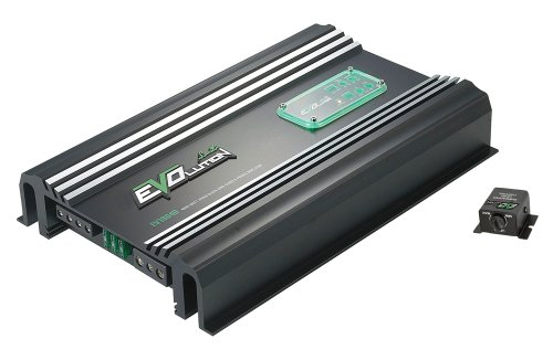 Lanzar Ev1804D Evolution Series 4000 Watt Monoblock Smd Power Amplifier, Class-D