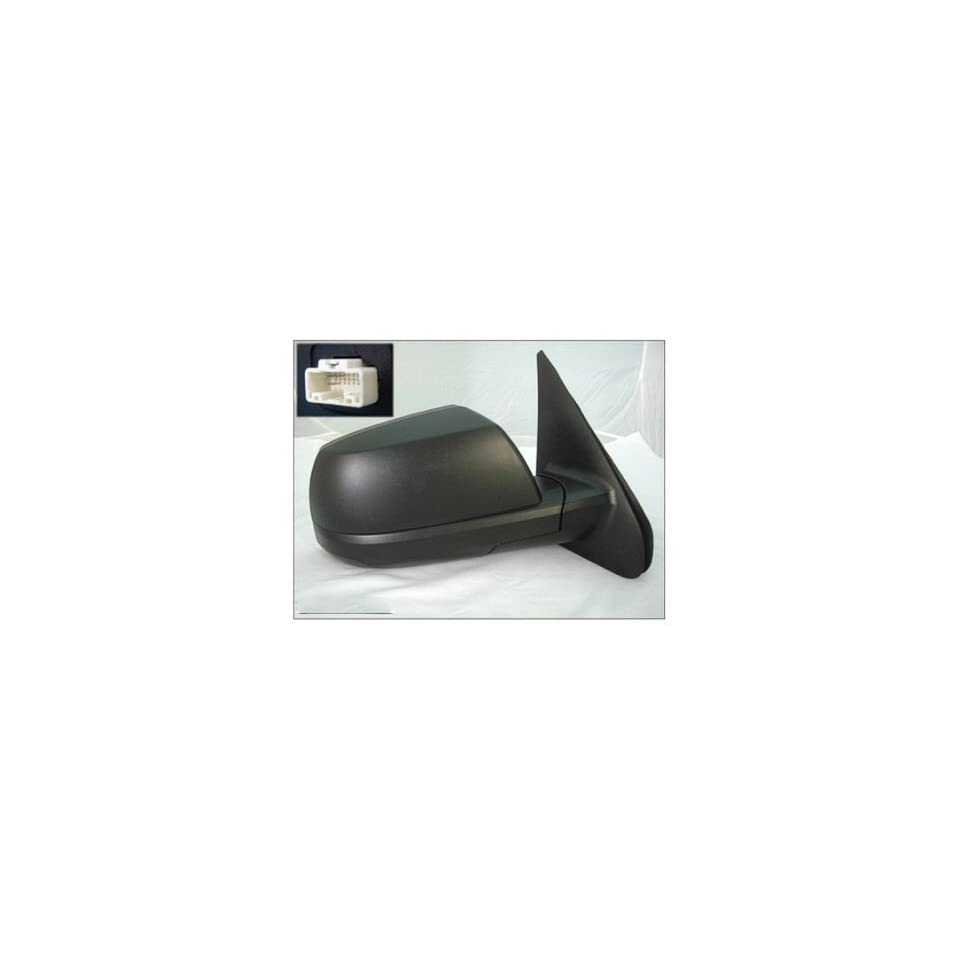 PASSENGER SIDE DOOR MIRROR Toyota Tundra PASENGER SIDE POWER WITH HEATED GLASS; TEXTURED; BASE/SR5 MODELS; WITH COLD CLIMATE SPEC