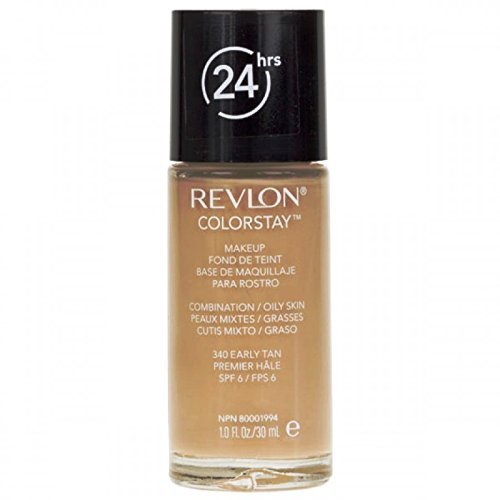 Revlon ColorStay Makeup Foundation for Combination/Oily Skin - 30 ml, 340 EARLY TAN