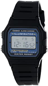 "Casio Men's F105W-1A ""Illuminator"" Sport Watch"