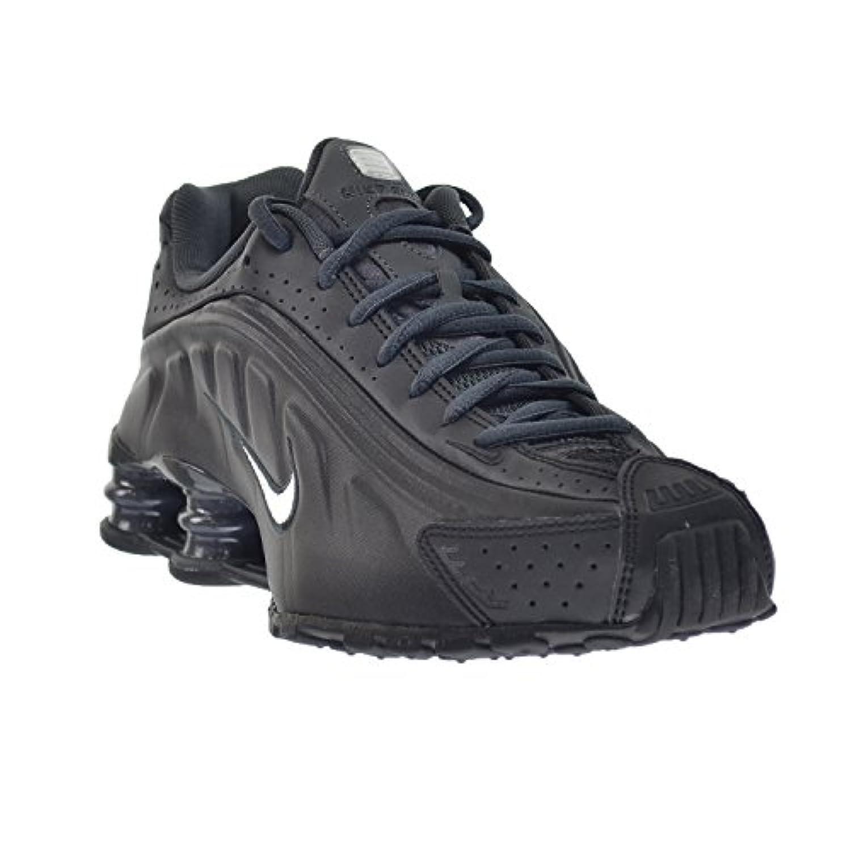 bfdbe5248b4d ... Nike Shox R4 Mens  Shoes Black White-Anthracite 104265-039 (11.5 ...