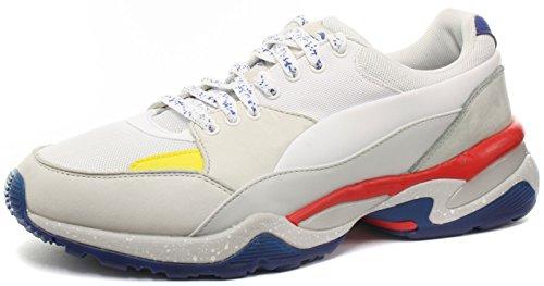Puma Alexander McQueen Tech Runner Uomo Sneaker, Bianco, 44