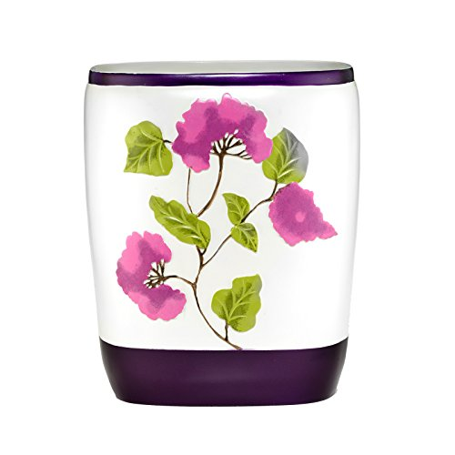 Popular bath jasmine waste basket plum home garden for Plum bathroom accessories