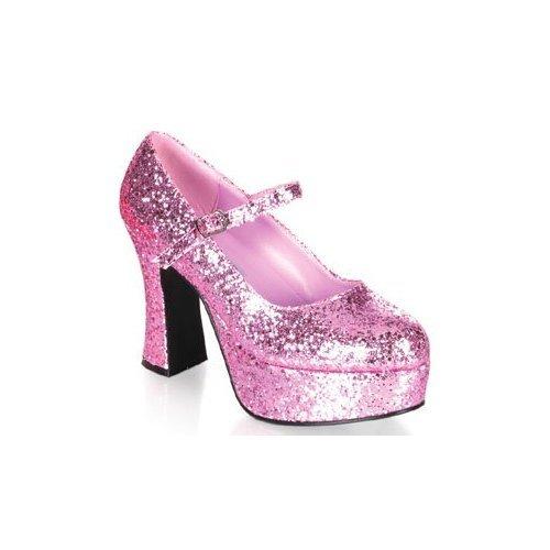 sparkly hot pink heels. Size 11 Sexy Platform Pink