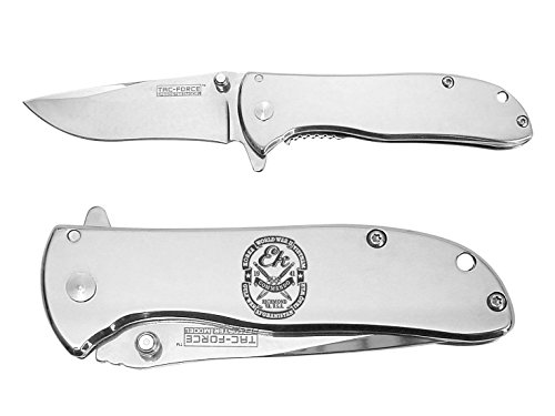 Ek Commando Knives Mirror Finish TACForce Speedster Executive Folding Knife