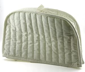 ritz quilted two slice toaster cover natural appliances covers. Black Bedroom Furniture Sets. Home Design Ideas