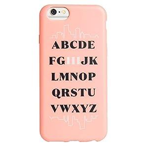 Agent18 iPhone 6 / iPhone 6S Case - FlexShield - Alphabet Hi - Retail Packaging
