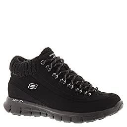 Skechers Synergy Winter Nights Womens Ankle Boots Black 11