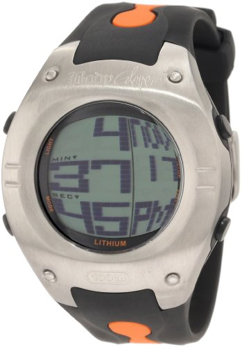 Body Glove Men's 70202 Warpt Digital Silver and Black/Orange Watch