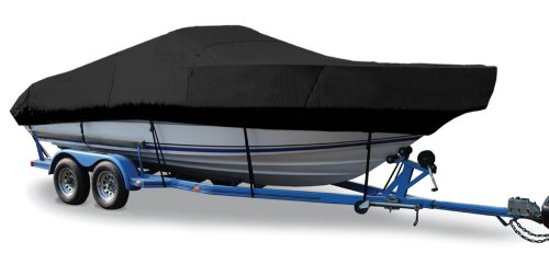 Taylor Made Products Trailerite Semi-Custom Boat Cover for Walk-Around Cuddy Cabin Boats with Outboard Motor (20`5