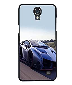 printtech Superfast Car Back Case Cover for Samsung Galaxy Mega 2 , Samsung Galaxy Mega 2 G750F , Samsung Galaxy Mega 2 G7508 Samsung Galaxy Mega 2 Duos G7508Q for China with dual-SIM card slots