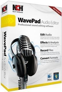Nch Software - Nch Wavepad 5 (Works With: Win Xp,Vista,Win 7/Mac X,10.2 Or Later)