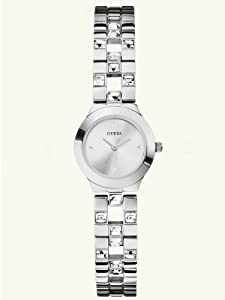 GUESS Women's U90038L1 Feminine Sparkle and Polish Watch