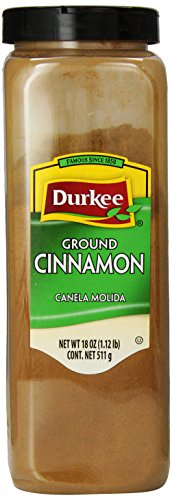 Durkee Ground Cinnamon, 18-Ounce Containers (Pack of 2)