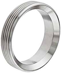 Dixon 15TRF-G300 Stainless Steel 304 Sanitary Fitting, Short Threaded Bevel Seat Weld Ferrule, 3\