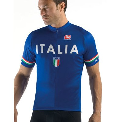 Image of Giordana 2010 Italia Arts Cycling Jersey - Blue - GI-SSJY-ARTS-ITAL (B000K6GGFM)