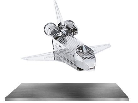 Metal Works 3D Space Shuttle Discovery Laser Cut Model - 1
