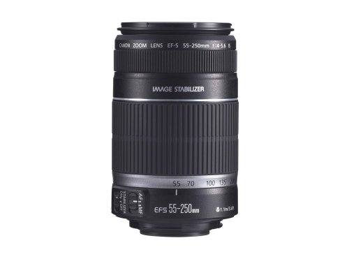 Christmas Canon EF-S 55-250mm f/4.0-5.6 IS Telephoto Zoom Lens for Canon Digital SLR Cameras Deals