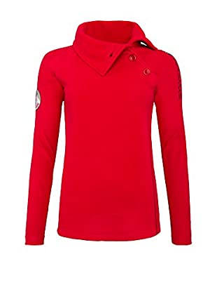 Nebulus Sudadera Fleece Button (Rojo)