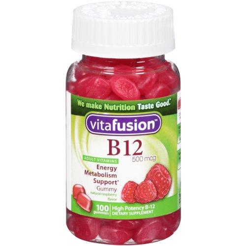 Vitafusion Energy 维生素B12 小熊营养糖 100粒*3瓶