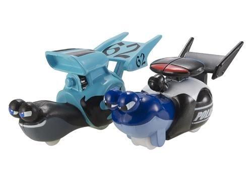 DreamWorks Turbo: Whiplash vs Police Car 2 Pack Vehicle Set