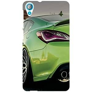 HTC Desire 820Q Back Cover - Back Lights Designer Cases