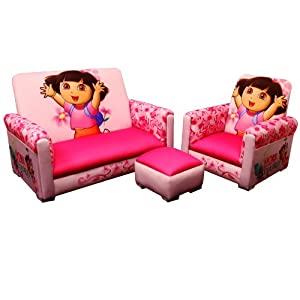 Nickelodeon 3 Piece Juvenile Set, Dora