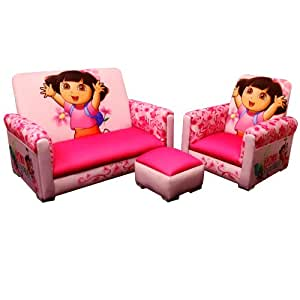 Nickelodeon 3 Piece Juvenile Set, Dora (Discontinued by Manufacturer)
