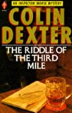 The Riddle of the Third Mile (Pan crime) (0330283928) by Dexter, Colin