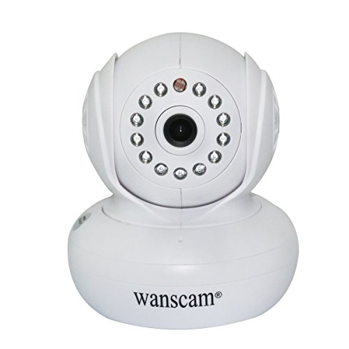Wanscam P2P 720P Hd 1.0 Mp Baby Monitor Megapixel Ip Camera Pan Tilt Ir Wifi Webcam Night Vision Wireless Network With Tf Card Slot - White front-270048