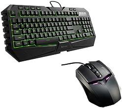 Cooler Master Storm SGB-3020-KKMF1-UK  Bundle Tastiera con Mouse da Gaming, Nero