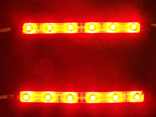 Custom Light Kit For Xbox 360 Console With Red Leds