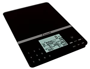 Escali 115NB Portable Nutritional Tracker, Black