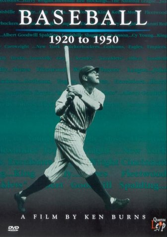 Baseball - 1920 To 1950 [1994] [DVD]