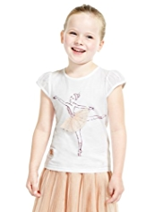 Royal Ballet Studded T-Shirt with Modal
