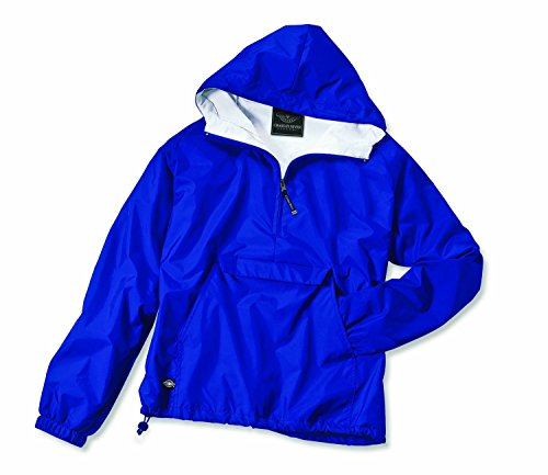 Charles River Apparel Women's Front Pocket Classic Pullover - Royal Blue, Large