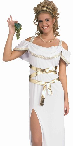 Sexy Venus Greek Goddess Aphrodite Toga Costume Womens (up to 14/16)